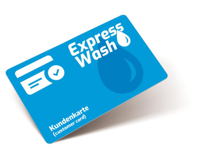 expresswash waschsalon wilhelmshaven kundenkarte